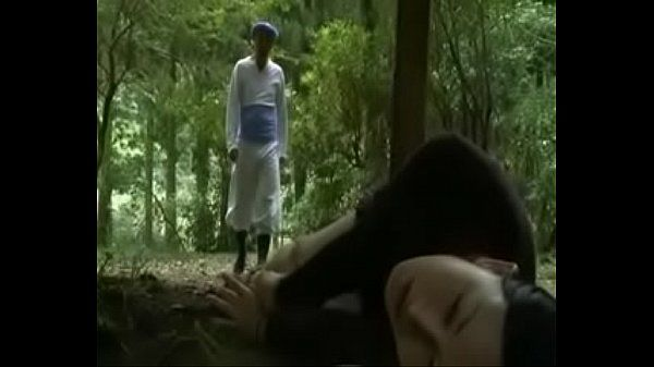 Japanese Love Story --School Girl is seduced in public toilet and fucked outside