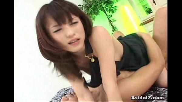 Japanese babe Arisa Suzuki banged