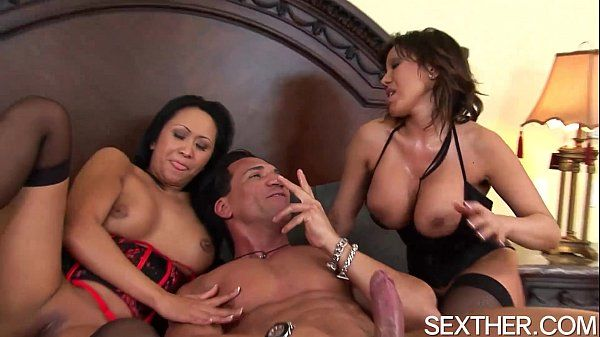 Kitty Langdon and Ava Devine Give Head and Anal Fucked