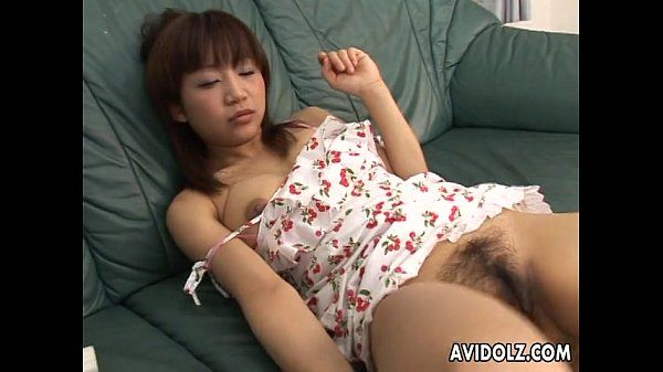 Boys get aroused as they spy on the masturbating Asian slut
