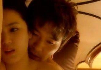 On Stairs Sex night Erotic - 8 min