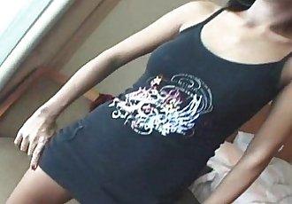 Asian Callgirl Stella Strips And Fucks - 5 min HD