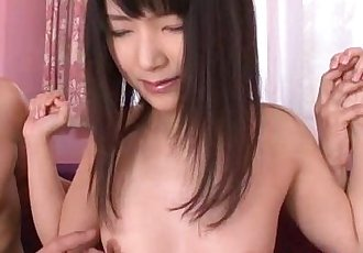 Teen in heats Tsuna tries vibrator - 8 min