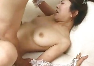 Mao Tachibana gets sex toys and dick in vagina - 10 min