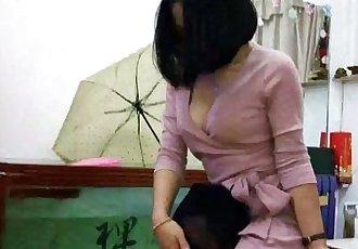 Chinese femdom 377 - 21 min