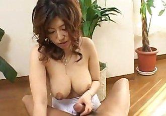 Busty Naho loves big cocks - 8 min