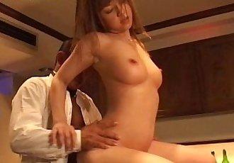 Nana Kawashima milky facial cumshot - 27 min