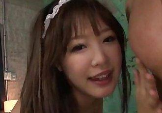 Momoka Rin makes magic with her nice pussy - 12 min