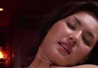 Maria Ozawa receives pleasure down her hairy love hole - 12 min