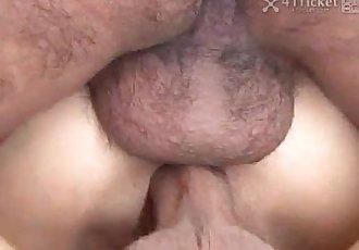 41Ticket - Yuka Fujisaki DP Anal Creampie - 5 min