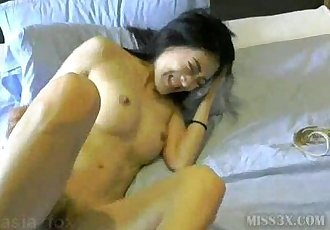 Asian toy orgasm - 16 min