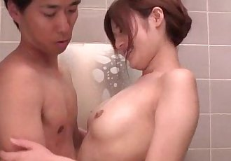 Mind blowing shower sex scenes with Yumi Maeda - 12 min