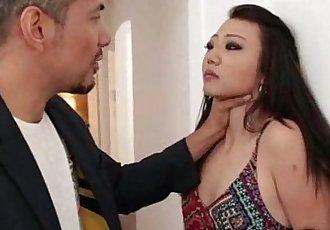 Asian Teen Gets Rough Punishment! - 3 min