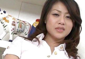 Hina Aisawa goes nasty on a juicy cock in hardcore - 12 min