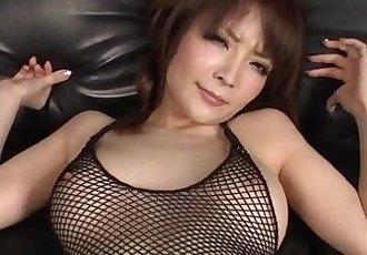 Amazing POV oral along curvy ass Riona Suzune  - 12 min