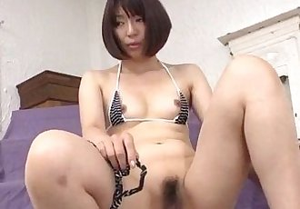 Izumi Manaka needy mommy loves cum on face - 12 min