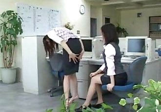 151 Hierarchy at Work Spanking - 6 min