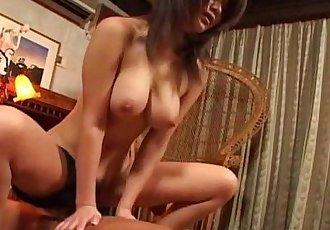 Big tits Asian hottie Juri Matsuzaka hot action - 6 min