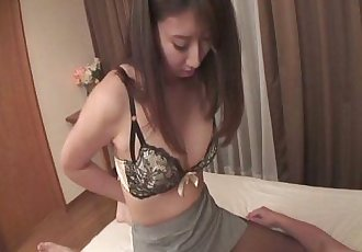 Mai Asahina Pounded Through A Hole In Her Pantyhose - 8 min