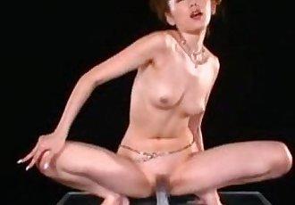 japan girl toying - 1 min 0 sec