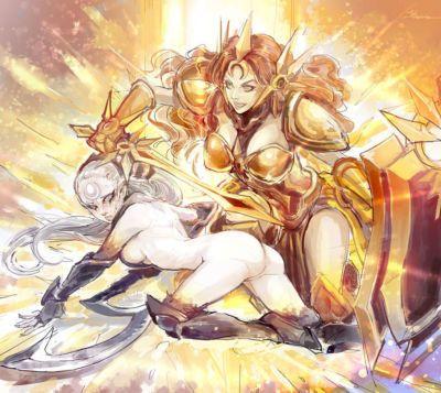 Лига из легенды - лесбиянки - часть 4