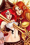 League of Legends - Lesbians - part 2