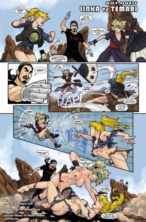 Hot Duels 1 - Linka VS Temari
