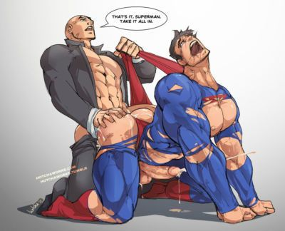 DC BATMAN AND SUPERMAN GAY PORN COMIC