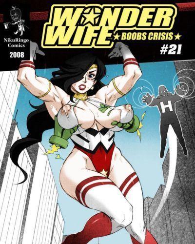 Wonder Wife Boobs Crisis