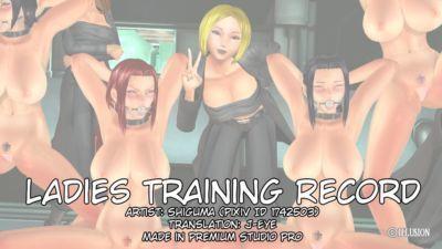 Ladies Training Record