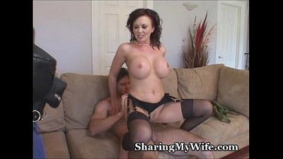 Hot Wife Shows Hubby How He Should Fuck - 3 min