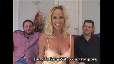 Slutty Wife Bangs My Two Friends - 3 min