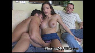 Stud Neighbor Bangs My Wife - 5 min