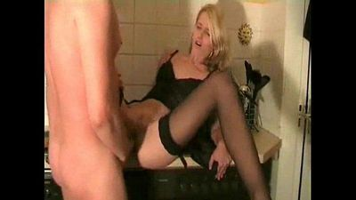 hot amateur wife in stockings - 7 min