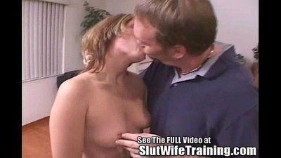 Hot Milf Tiffany Slut Wife Final Exam with Dirty D - 4 min