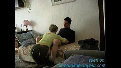 Young boy fuck his moms friend secretly - 9 min