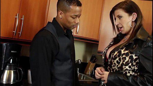 E-Cup Tit Slut Sara Jay Fucks a Black dude