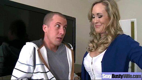 (brandi love) Naughty Housewife With Round Big Boobs Love Sex mov-08