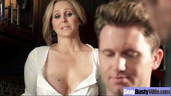 (julia ann) Busty Hot Mature Housewife Get Sluty In Hard Sex Scene mov-14