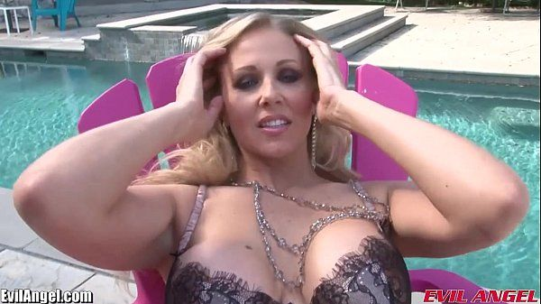 EvilAngel MILF Julia Ann Takes 12 Inches of Big Black CockHD