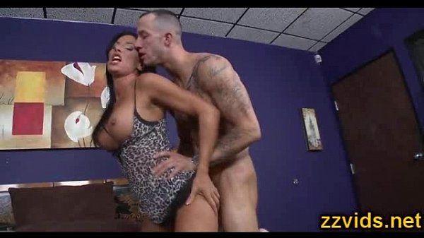Busty MILF Lezley Zen fucked hard