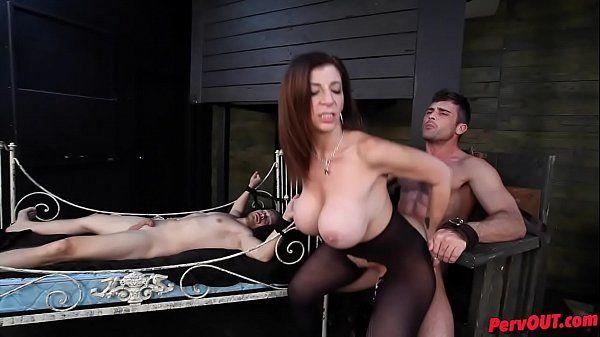 Sara Jay has sex slaves Lance Hart Alex AdamsHD