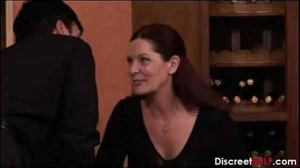 Mature Hot Mom Seduced By Waiter