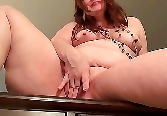 BBW milf Jacks from the USA loves dildoing her pussy 12 min HD