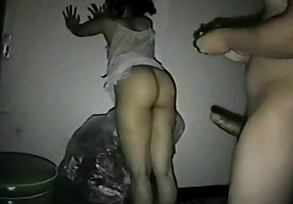 Mumbai aunty frucked from behind by her BF - 2 min