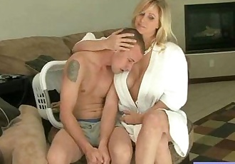Mature Lady With  Big Juggs Banged Hard Style mov-10 - 5 min