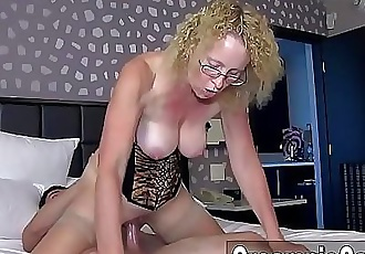 Young Guy Creampies MILF 12 min