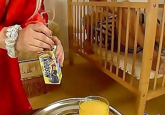 His babysitter makes Jordi a Sandwich and then fucks him 26 min HD