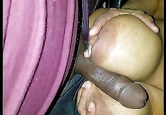 married church lady askin me not to put the phone on before she raps her big tits round my meat! real! 4 min