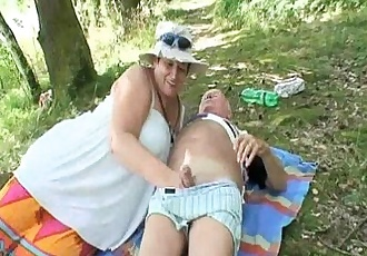 Old Couple And Horny Teen